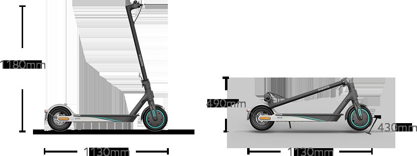 aibiku Scooter Headsets Zubeh/ör Pack f/ür Xiaomi Mijia M365 Elektro Scooter