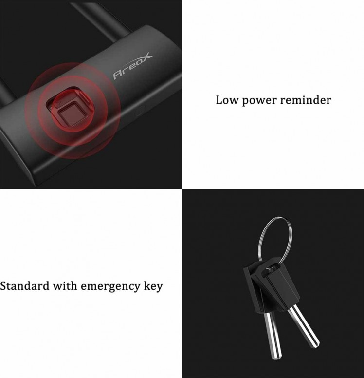 [Mİmar / İnceleme #60] Xiaomi AreoX  Akıllı Parmak İzi U Kilit / AreoX Smart Fingerprint U-lock