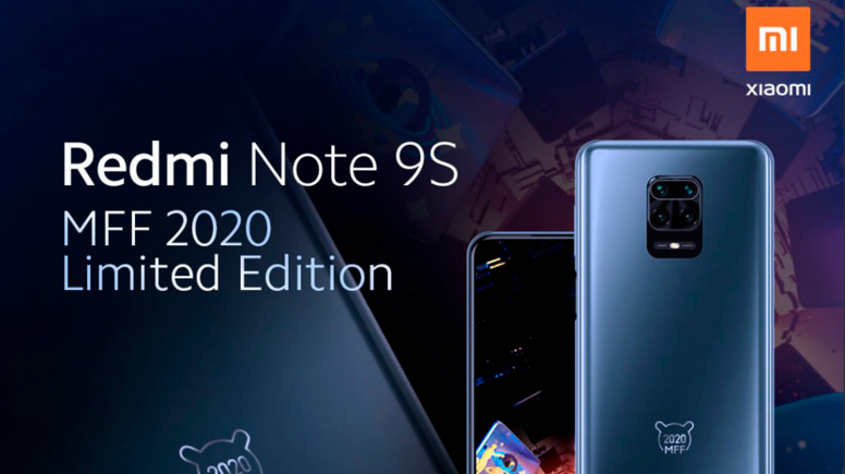 Представлено смартфон Redmi Note 9S MFF 2020 Limited Edition