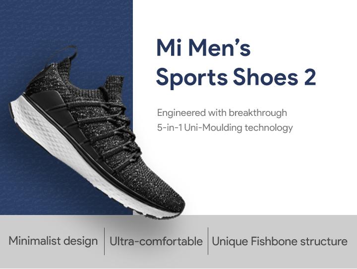 5cdb6307690 Mi Men s Sports Shoes 2 - CrowdFunding - Mi India