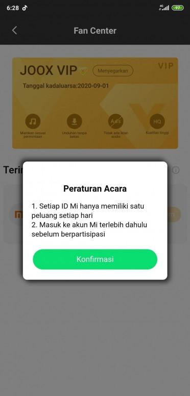 Info Buat Yg Belum Tau Joox Premium Gratis Buat Pengguna Xiaomi Musik Mi Community Xiaomi