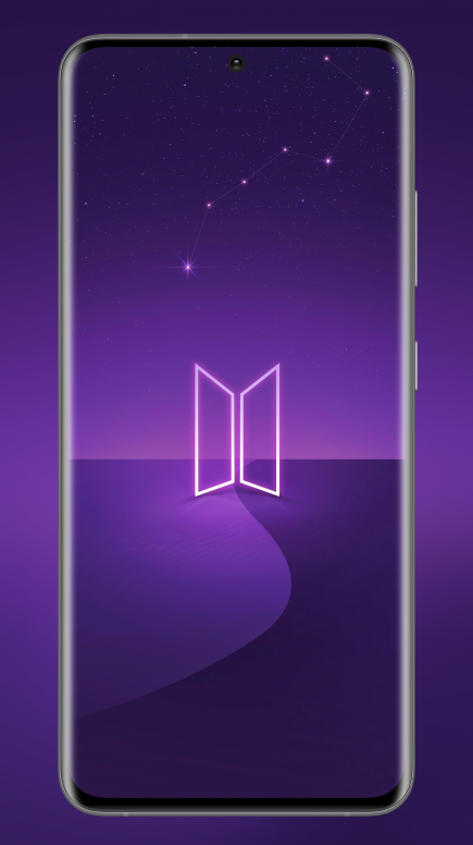 Mi Resources Team Samsung Galaxy S20 Plus Bts Edition Built In Default Wallpaper Download It Now Wallpaper Mi Community Xiaomi