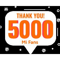 5000 Mi Fans Nigeria
