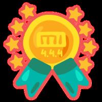 Medalla APP 4.4.4