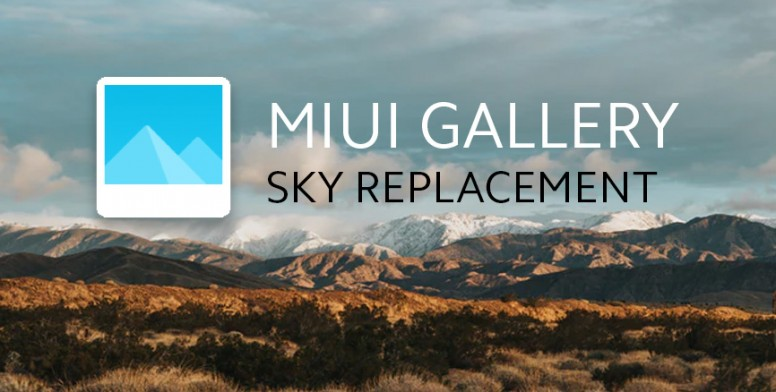MIUI 12 Gallery: AI Sky Replacement Filter