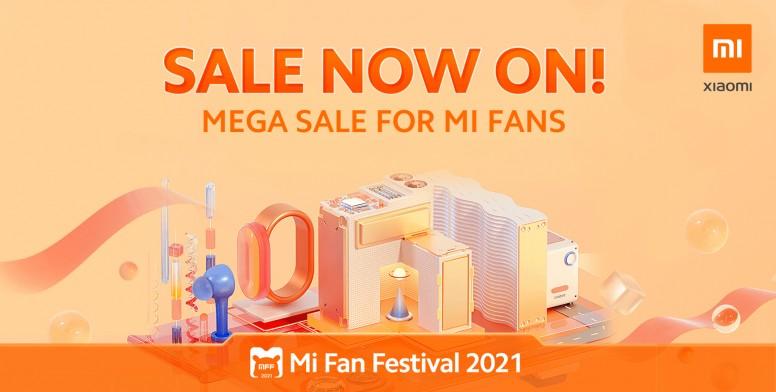 Mi Fan Festival 2021 has Arrived! Enjoy Amazing Deals!