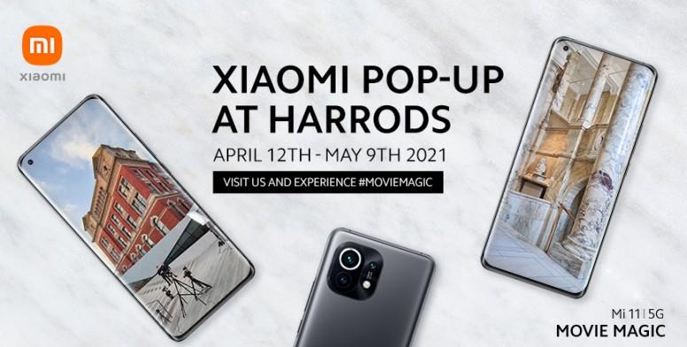 Xiaomi popup at Harrods