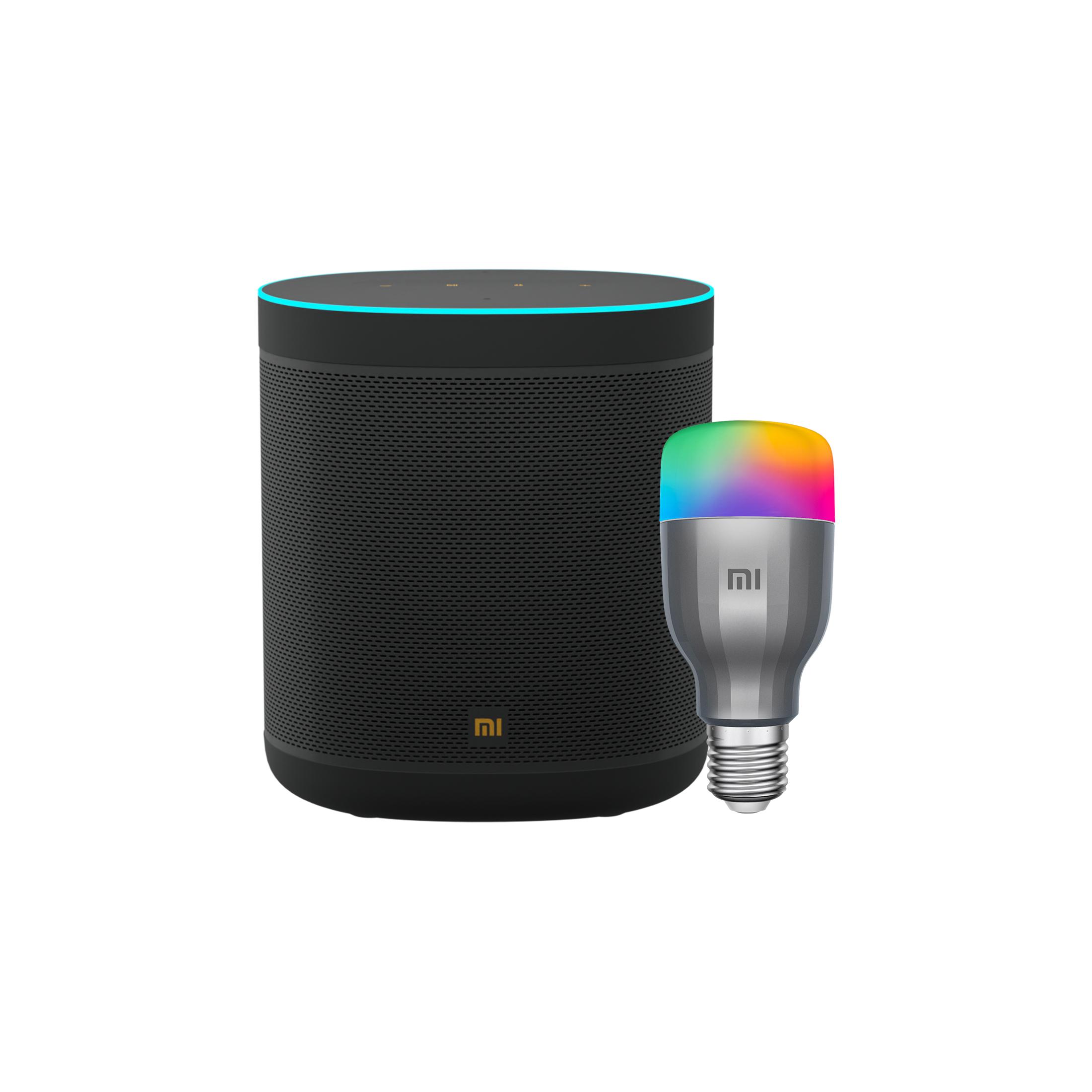 Mi Smart Speaker and LED Bulb Combo Pack