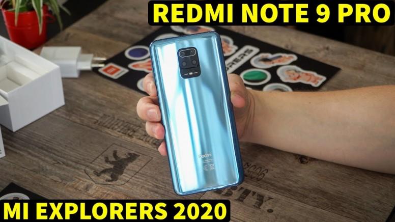 Redmi Note 9 Pro - Mi Explorers 2020 (Unboxing)