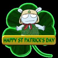 St Patrick's Day Medal
