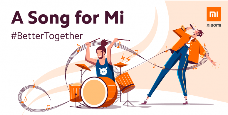 Be Part of A Song for Mi Music Video!