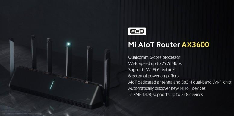 小米 AIoT Router AX3600