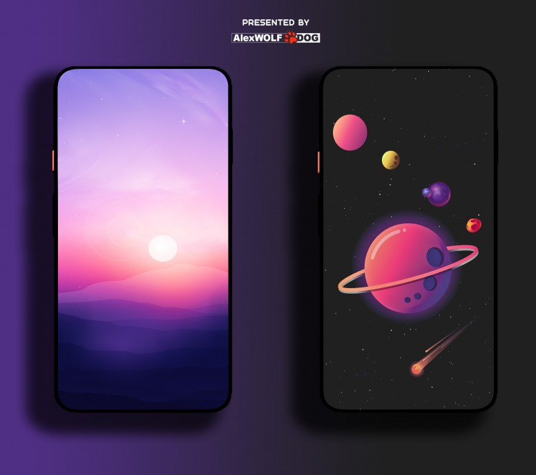 MINIMAL Wallpapers [collection] Presented by AlexWOLF DOG