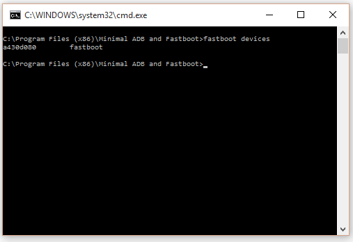 Flash Fastboot ROM through Command Prompt  - Flashing Guide