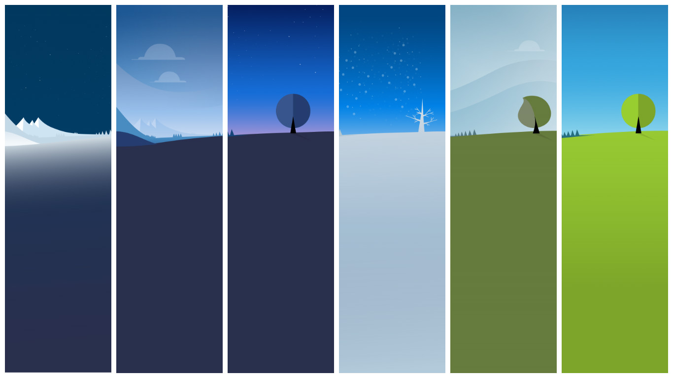 заставка погода с анимациями происходящего
