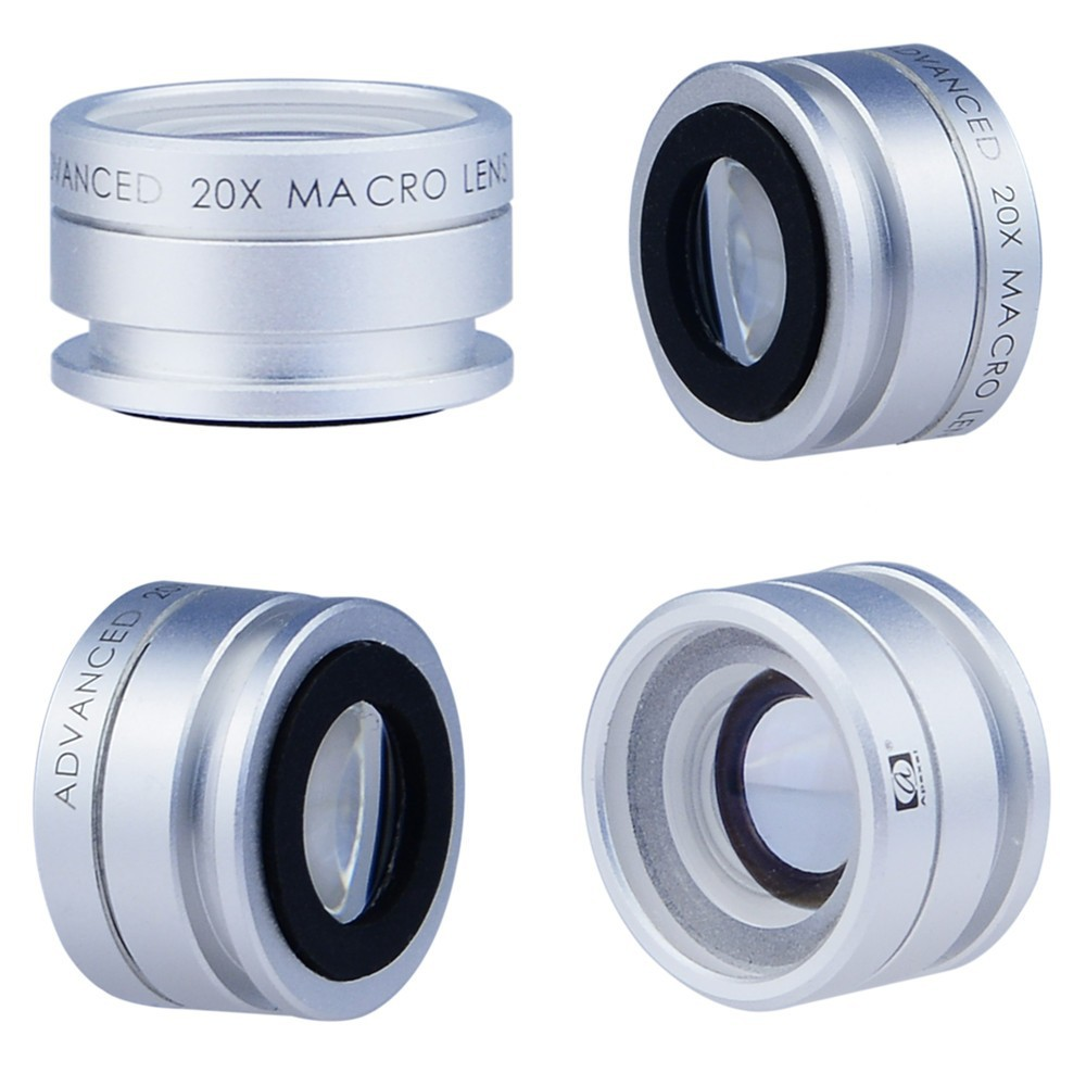 3 in 1 Macro lens Vs. Apexel 20x Macro lens Comparison