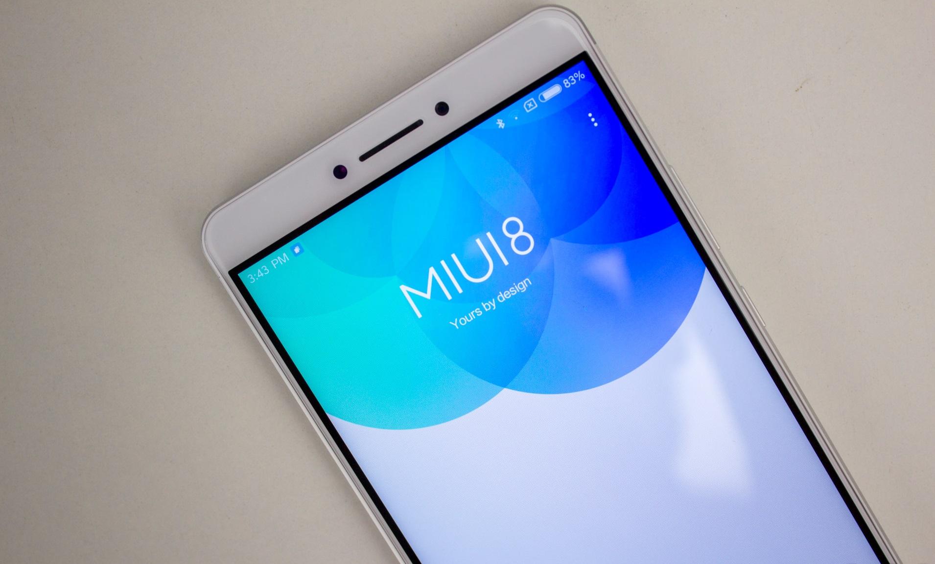 Xiaomi Mi Max AH NS miui 8