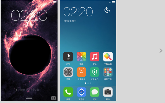 New Themes avaiable [download and comments] - Themes - Mi