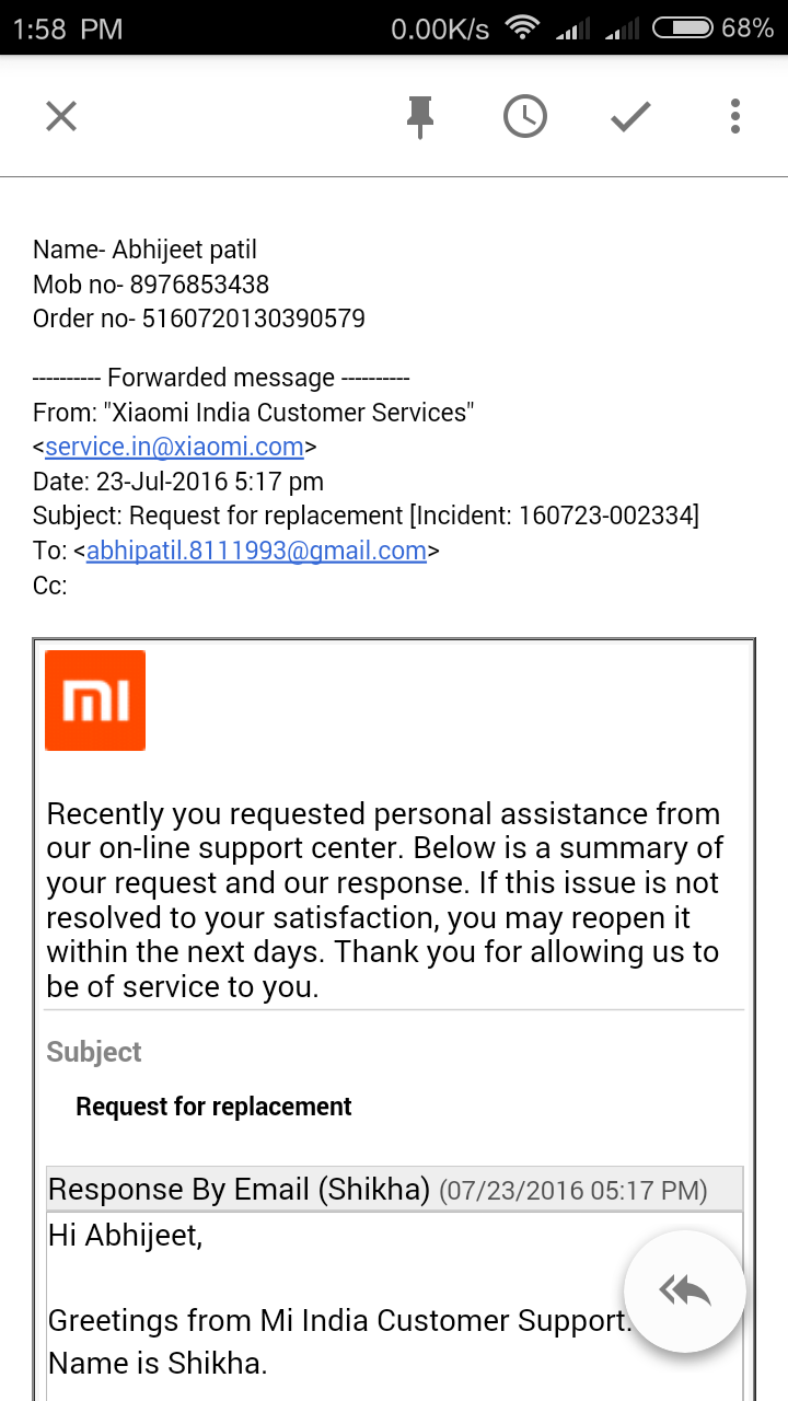 Xiaomi cant provide after sales service in india customer xiaomi cant provide after sales service in india kristyandbryce Images