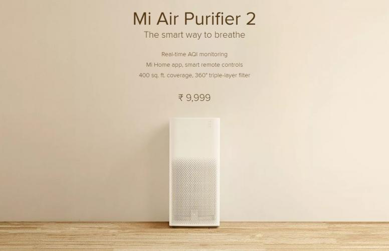 mi air purifier 2 manual