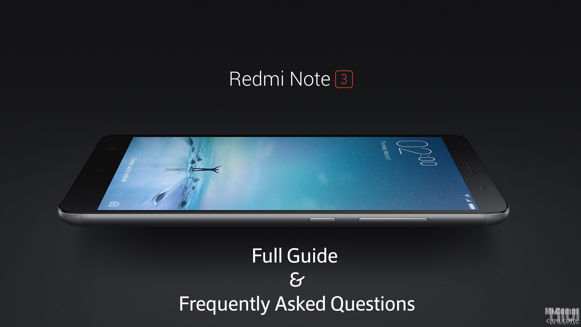 Redmi Note 3 Full Guide And Frequently Asked Questions Xiaomi 3s Pro 32 Gb Rom Global Gold