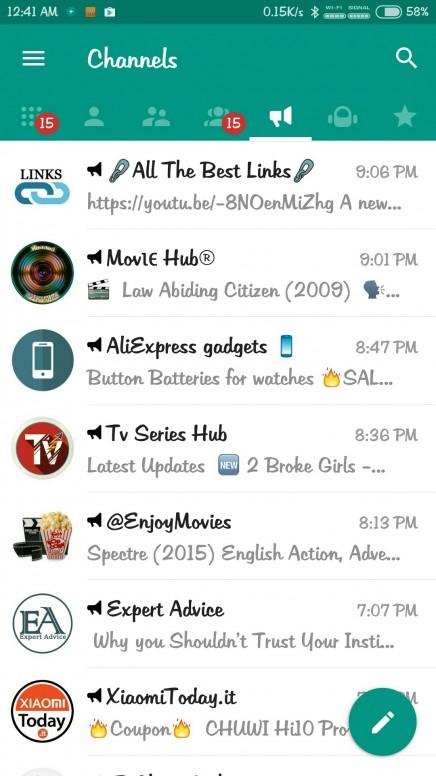 Plus Messenger : Telegram and Plus - Resources - Mi