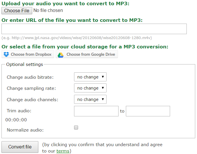 RT][Step By Step Guide] Online Audio Convertor & Cutter