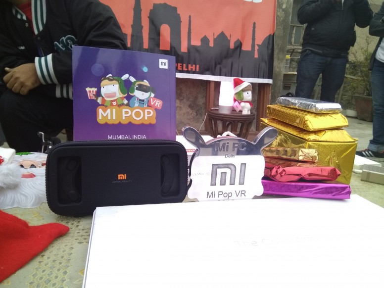 Some Gifts, Mi Pop Medal Delhi Fan Club , Hand on Mi VR Play