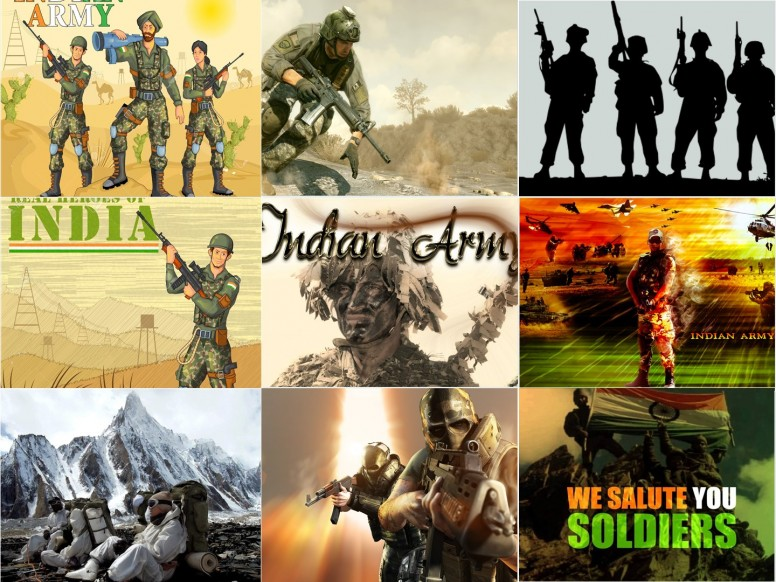 Indian Army Love Images Hd: Salute To Indian Army Wallpaper