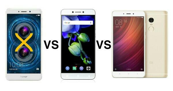 Xiaomi Redmi Note 4 vs SwagPhone Honor 6X vs Coolpad Cool 1 Dual