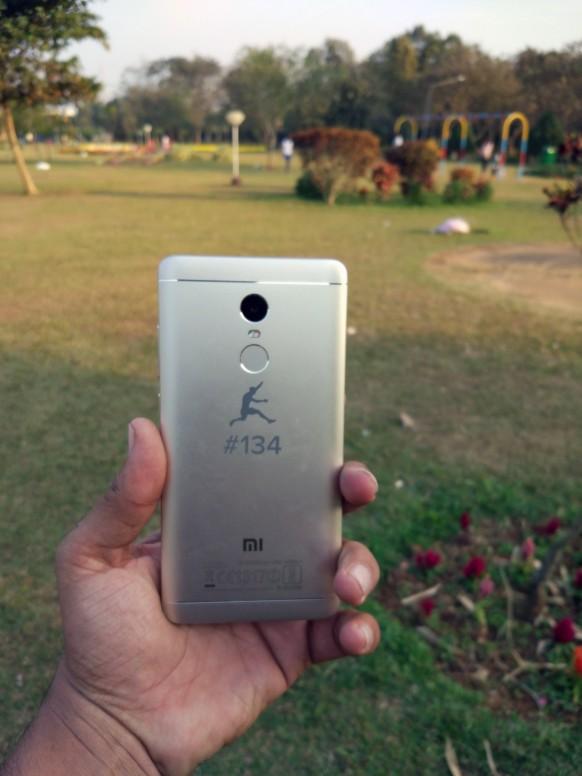Redmi Note 4  Back Side