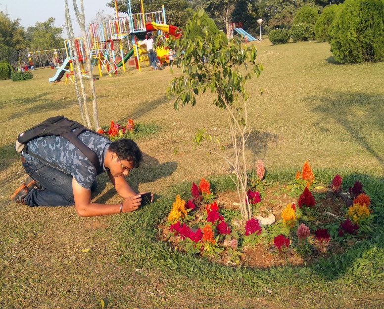 Amit bhai's dedication towards photography