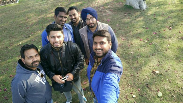 Selfie with Sharma G.