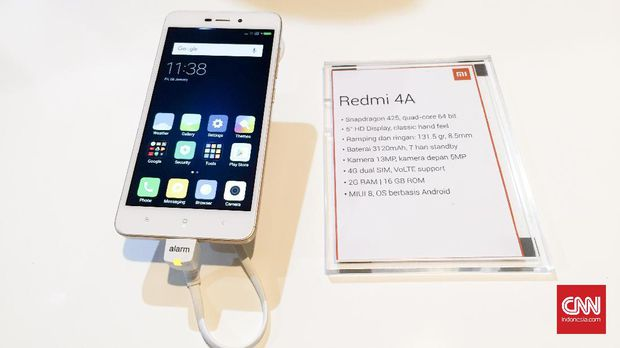 Redmi 4a xiaomi introduced first mobile to be assembled in