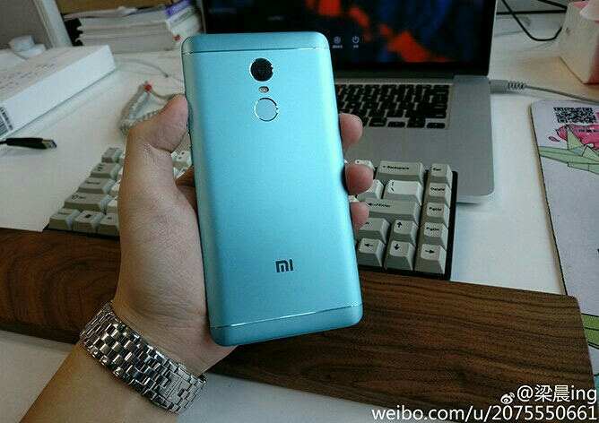 Here's our first real look at the green xiaomi redmi note 4x mi
