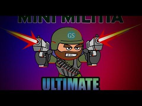 mini militia hack game download unlimited guns