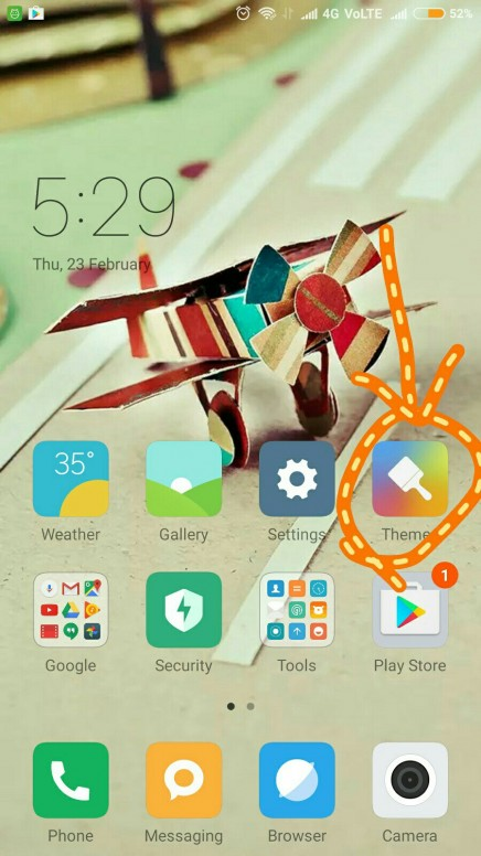 How to set the scrollable wallpaper in mi phone ? - Tips & Tricks