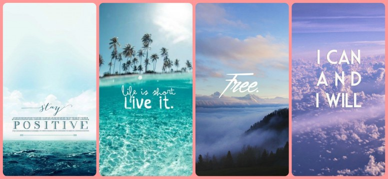 Rt Stay Positive Quotes Wallpapers Resources Mi