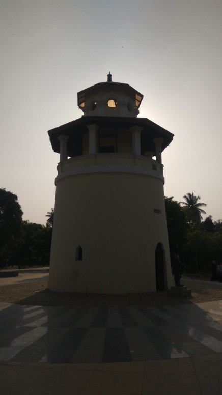 The freedom park watch tower