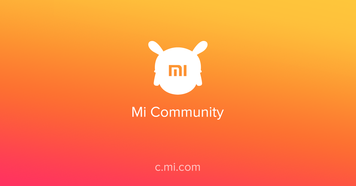 Xiaomi Wallpaper With Logo: Mi Community
