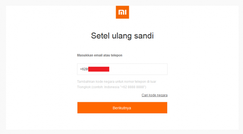 Panduan Lupa Password Mi Account Tips Dan Trik Mi Community Xiaomi
