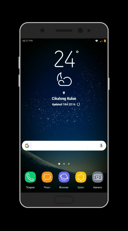 Theme v8] Galaxy S8 [Galaxy S8] [GreenNet2] Download di tema store