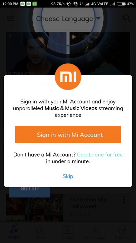 1 yr Hungama Subscription for Mi Phones. Share screenshots to win Redmi Note 4 F-Codes!