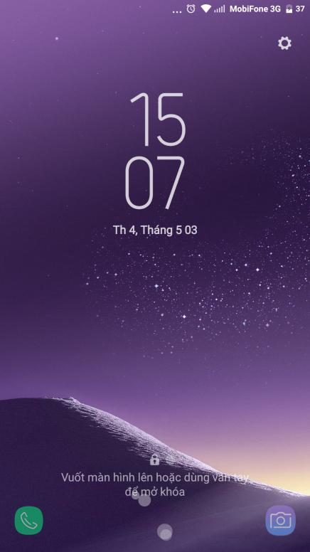 Theme Samsung Galaxy S8 DreamUX Việt hóa - Giao diện MIUI - Mi