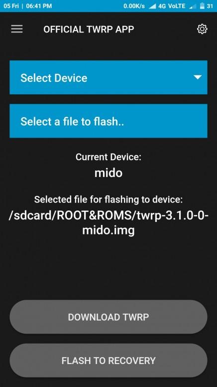 How to flash TWRP on Redmi note 4 - Redmi Note 4 - Mi