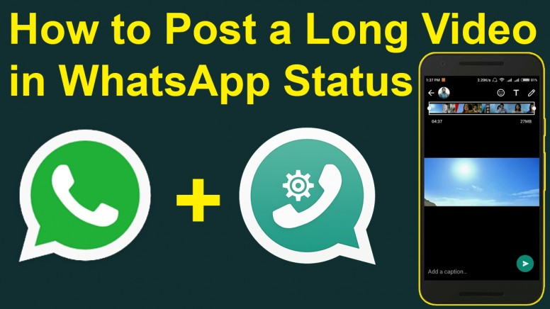How To Post A Long Video In Whatsapp Status Tips Tricks