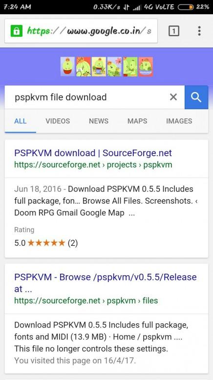Скачать на андроид pspkvm