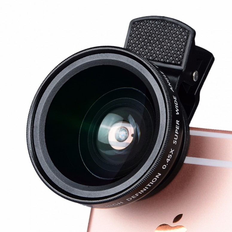 Apexel 2in1 12.5x Macro + 0.45x Super Wide Angle Lens Review with Mi5