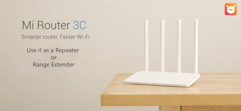 Setup Mi Router 3C as Wi-Fi Repeater or Range Extender - Mi