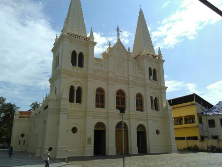 Santha Cruze Church Fort Kochi Taken With My Red Mi 2
